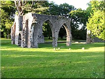 H8744 : The chancel of Armagh's Franciscan Friary by Eric Jones