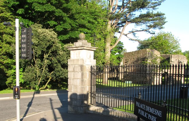 Main entrance to the Palace Demesne