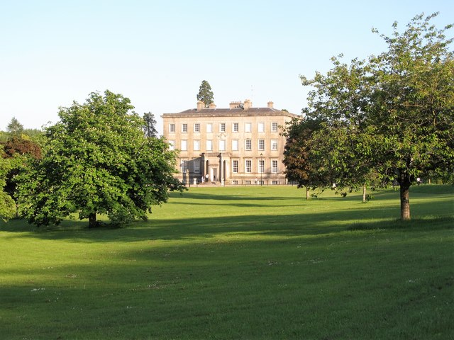 View across parkland to the former Archbishop's Palace