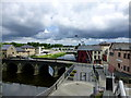 H4572 : A cloudy sky, Omagh by Kenneth  Allen