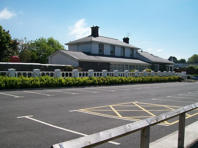 The converted former Markethill Railway Station