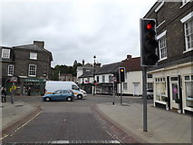 TM0458 : Bury Street, Stowmarket by Adrian Cable