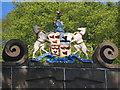 NJ8128 : Urquhart arms... by Bill Harrison