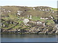 NB1634 : Standing stones on Great Bernera/Beàrnaraigh by M J Richardson