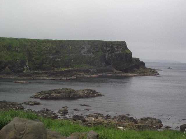 Great Stookan from the road to the Giant's Causeway