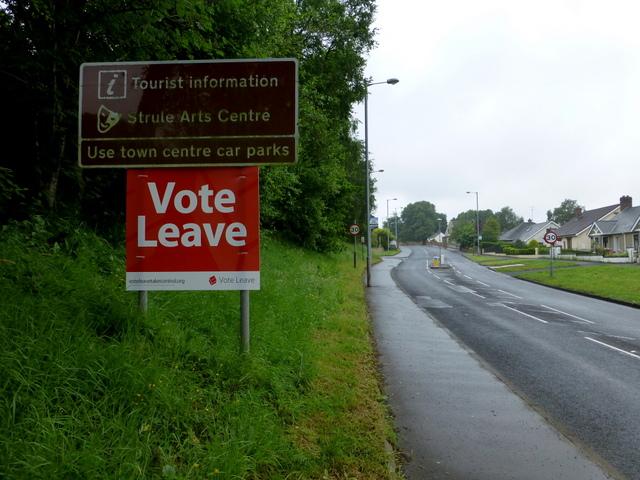 Vote leave notice, Campsie