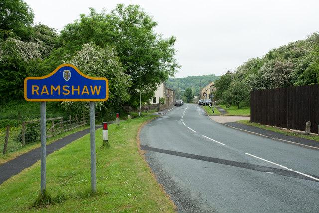 Gordon Lane Entering Ramshaw