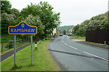 NZ1426 : Gordon Lane Entering Ramshaw by Trevor Littlewood