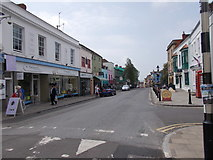 ST5038 : High Street - viewed from The Archers Way by Betty Longbottom
