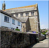 SW4730 : Belle Vue Terrace side of  Penzance Roman Catholic church by Jaggery
