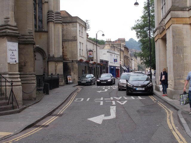 Walcot Street - viewed from Northgate