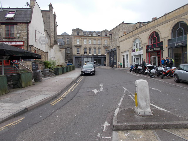 Saracen Street - Walcot Street