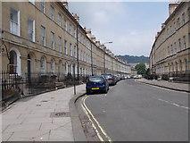 ST7565 : Henrietta Street - Great Pulteney Street by Betty Longbottom