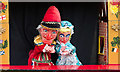 SP4720 : Punch and Judy, The Old Barn, Tackley, Kidlington, Oxfordshire by Christine Matthews