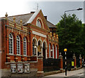 TQ2886 : Highgate Branch Library, Chester Road by Julian Osley