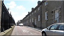H8745 : Terraced housing in Vicars' Hill by Eric Jones