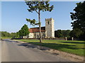 TL9383 : St. Andrew's Church, Brettenham by Adrian Cable