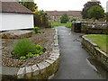 TR0420 : Entrance to All Saints Churchyard, Lydd by Marathon