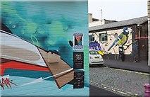 ST5973 : Murals, Stokes Croft, Bristol by Derek Harper