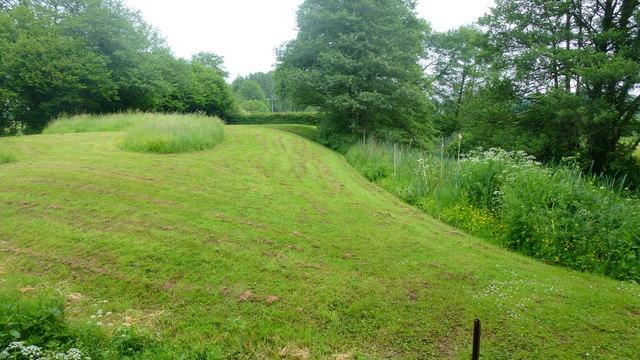 Moated site, Llantilio Crossenny, 1
