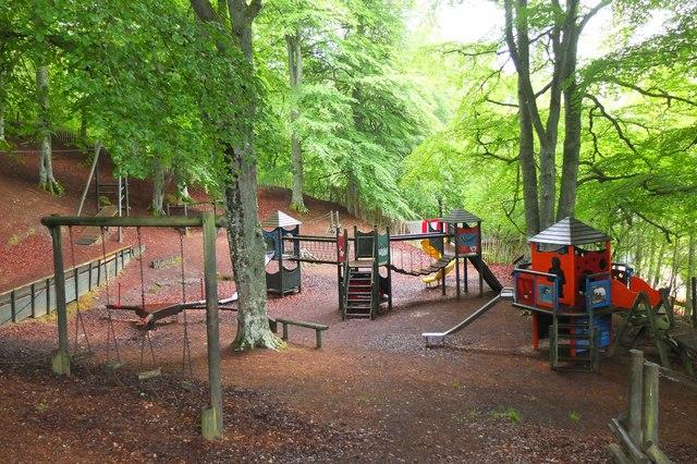 Play area, Loch Insh