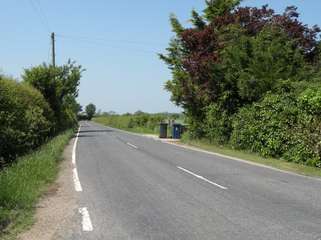 Grantchester Road, on the way to Coton