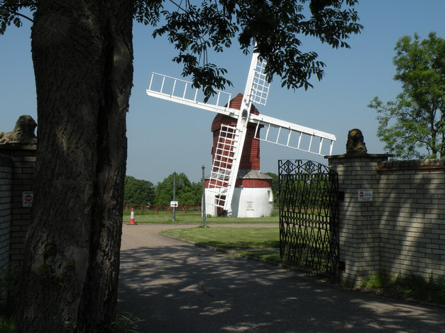 Windmill at Madingley