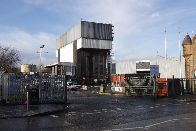 Powerhall Refuse Depot by Richard Webb