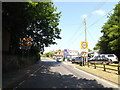 TM0948 : Entering Somersham on Somersham Road by Adrian Cable