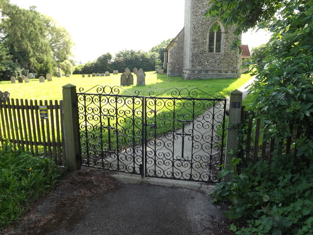 Entrance to St.Margaret's Church