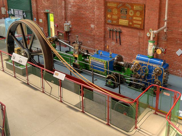 Wasp Mill Steam Engine