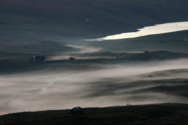 Mist around Alma, Baltasound