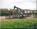 SK8288 : Nodding Donkey Oil/Gas Extraction by Chris Coleman
