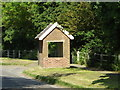 TM0848 : Bus Shelter on Main Road by Adrian Cable