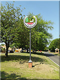 TM0848 : Somersham Village sign by Adrian Cable