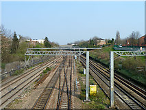 TQ2081 : Great Western main line by Robin Webster