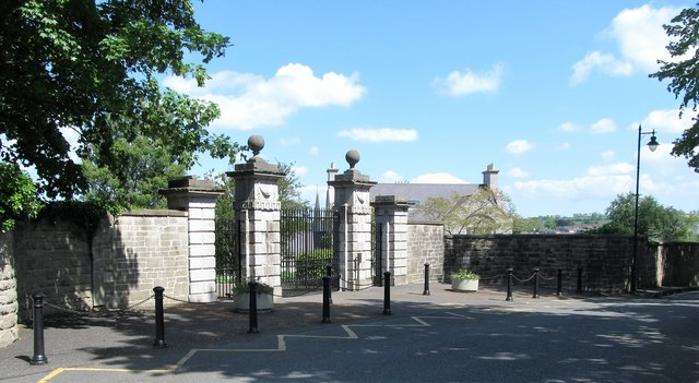 Palatial gates leading to See House