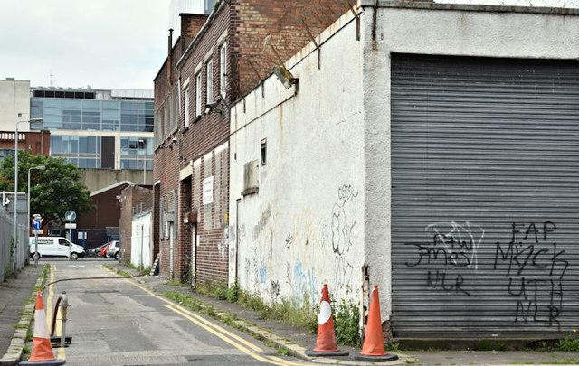 Little York Street, Belfast (June 2016)
