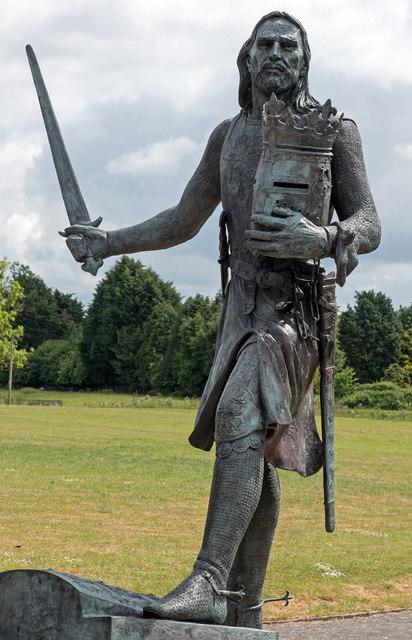 Statue - King Edward I - Burgh by Sands - June 2016