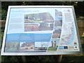 TM1840 : Information Board at Orwell Country Park by Adrian Cable