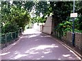 SZ0891 : Bournemouth: northern segment of Exeter Lane by Chris Downer
