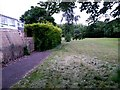 SZ0794 : Ensbury Park: footpath N27 runs out of tarmac by Chris Downer