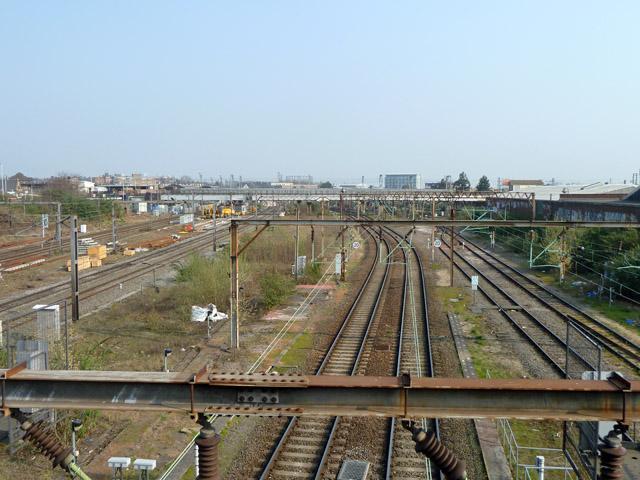 West Coast main line at Willesden Junction