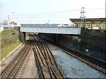 TQ2182 : At Willesden Junction by Robin Webster