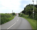 SS0898 : Main road into Lydstep by Jaggery