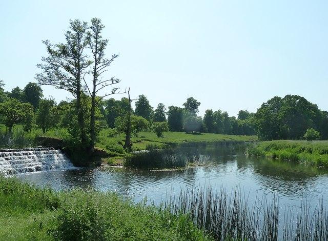 The River Avon in Charlecote Park