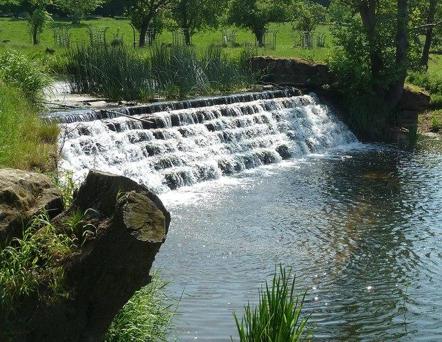 Weir in Charlecote Park