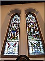 SU8551 : Garrison Church of All Saints, Aldershot: stained glass window  (i) by Basher Eyre