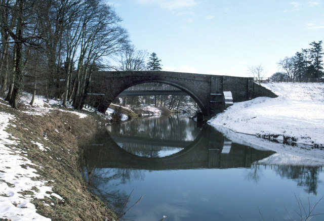 Twizel bridges (new through original arch)