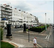 TQ3303 : Marine Parade, junction with Lewes Crescent by Chris